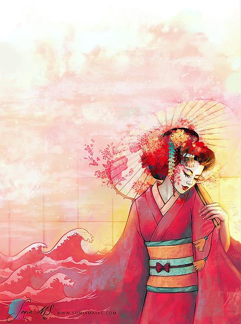 Geisha A4