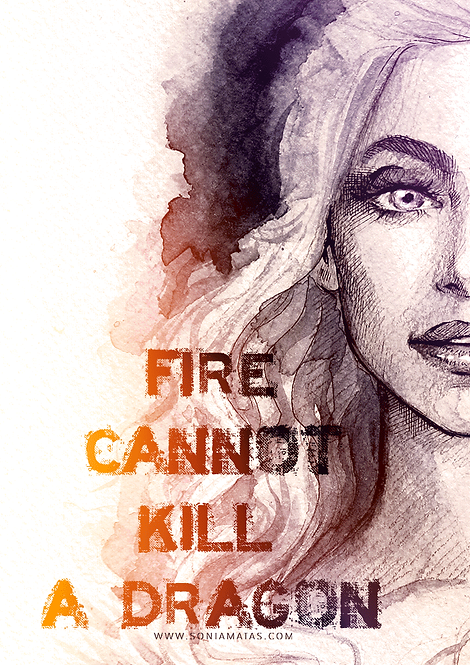 Khaleesi quote [Mini-Print]