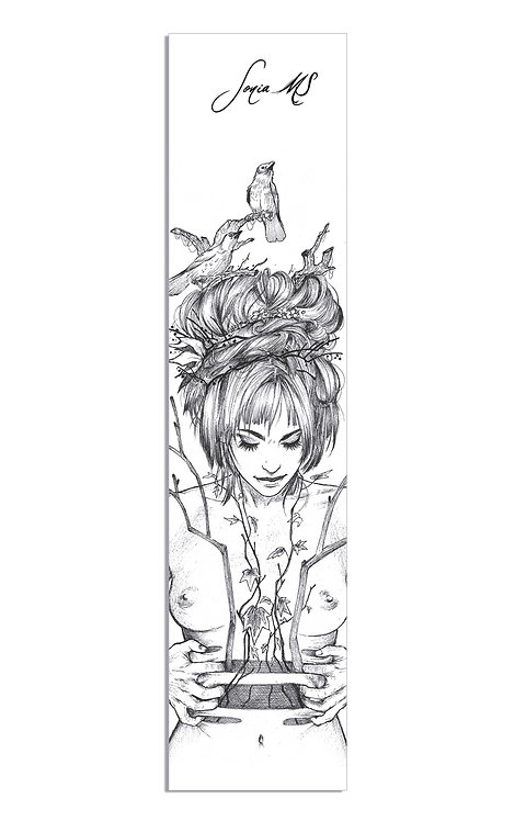 Grayscale bookmark
