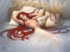 Myriam Morand original character, Avavilka, commission, commission, artjobs, illustrator, ilustradora, ilustracion, encargo, pintura, pintura digital, retrato,  Sonia Matas, Sonia MS