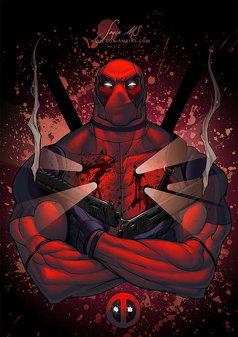 Deadpool A4