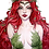 Thumbnail: Poison Ivy watercolor 1 [Print A4]