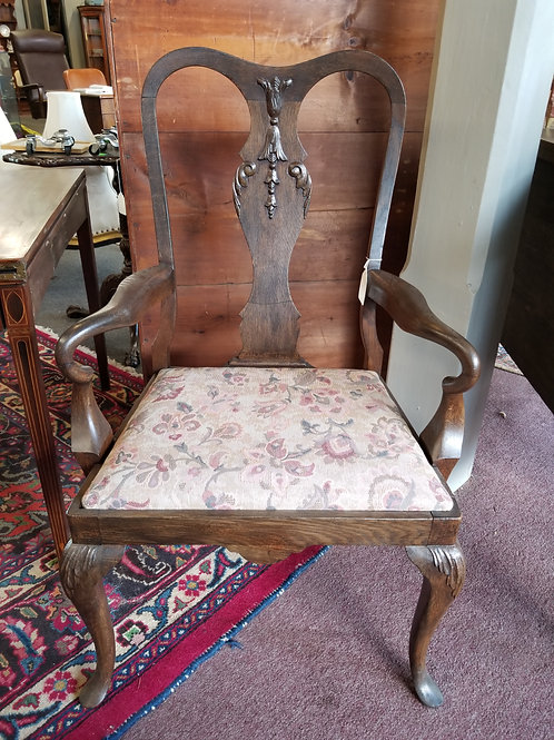 Queen Ann Arm Chair – Circa 1890