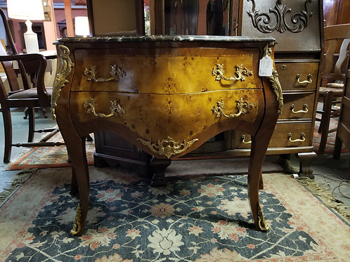 French Bombay Marble-top Chest - Circa 1920