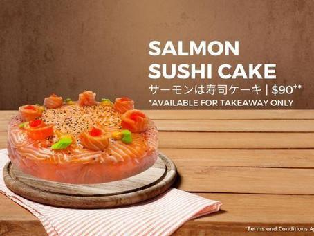Salmon Sushi Cake: A Fun Twist To Sushi!