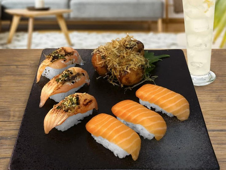 Heavenly Salmon is Now Available in Bundle at Sakae Sushi