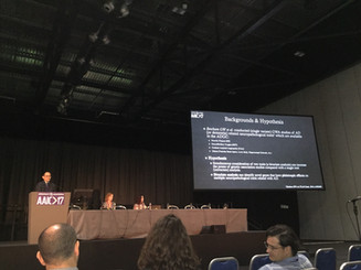 Jaeyoon Chung Presented at the 2017 Alzheimer Association International Conference