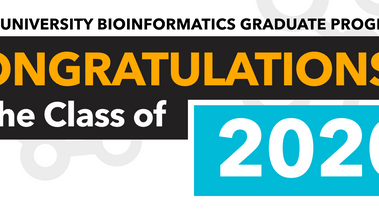 Congratulations to our Class of 2020 Bioinformatics Graduates!