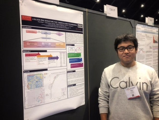 Yue (Jason) Zhao Presented A Poster At The ASHG 2018