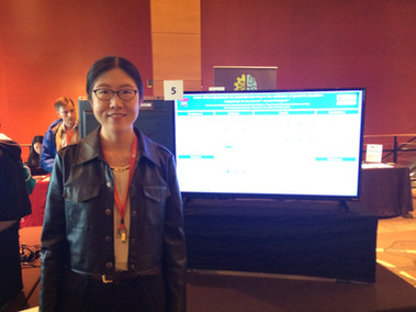 Yuqing Zhang Presented at the 2019 Symposium of Data Science and Statistics