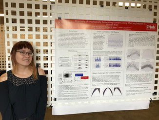 Eve Byington, M.S. student, wins a GSI Research Symposium poster award