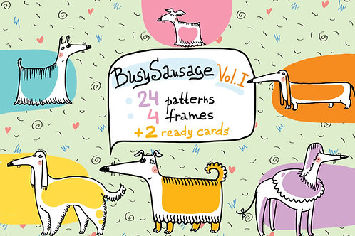 BusySausage Vol.1 patterns