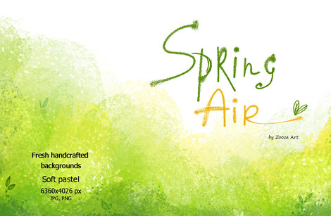 Spring Air - backgrounds