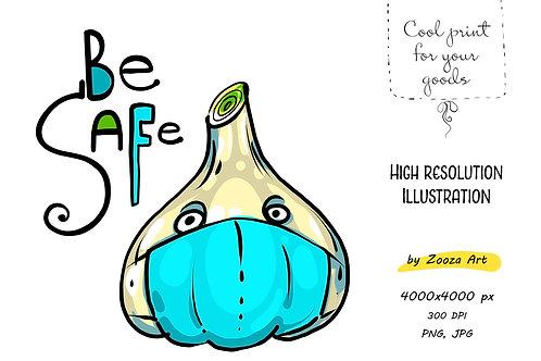 Be safe illustration