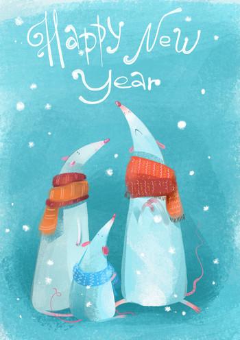 Happy New Year mice