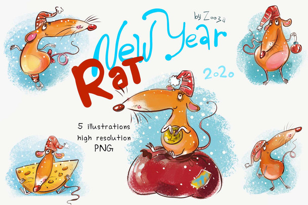 New Year Rat