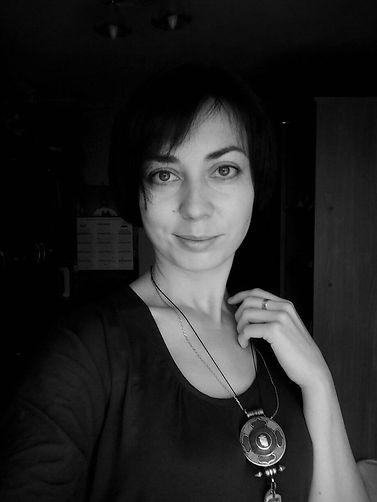 Ekaterina Putilova Zooza Art photo black-and-white portrait