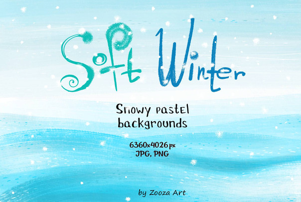 Soft winter - backgrounds