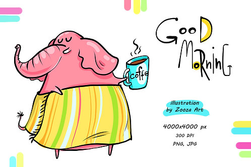 Good morning - illustration