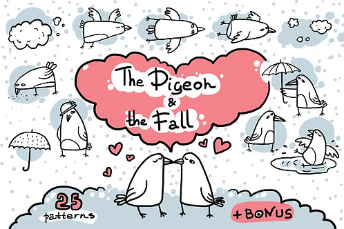 The Pigeon & the Fall patterns