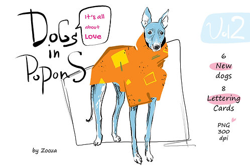 Dogs In Popons - It's all about Love