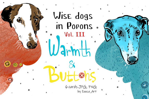 Wise dogs in popons - Vol.III
