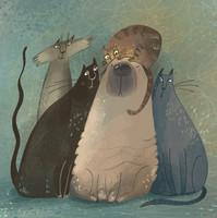 Unt Tanya's cats