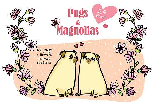 Pugs&Magnolias 29 elements