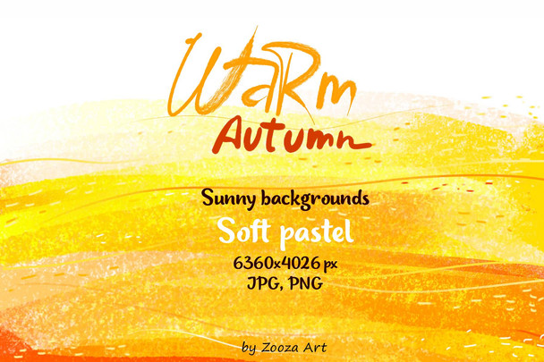 Warm Autumn - backgrounds