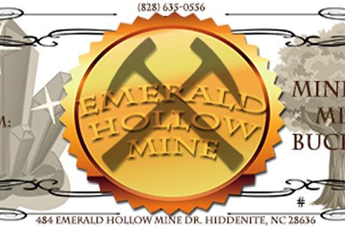 Miners Mix Bucket Gift Certificate