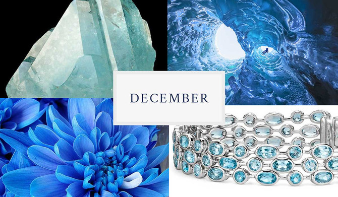 December's Trifecta of Dazzling Birthstones
