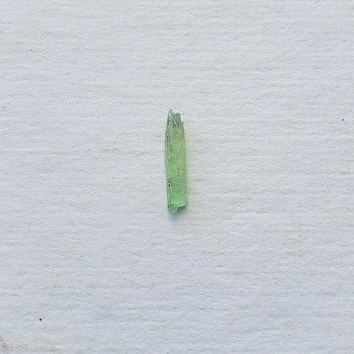 Native Hiddenite Crystal