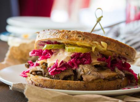 Vegan Reuben Sandwich | Lunch