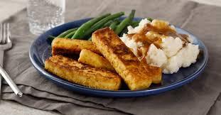 Cajun-Spiced Cornmeal-Breaded Tofu | Dinner