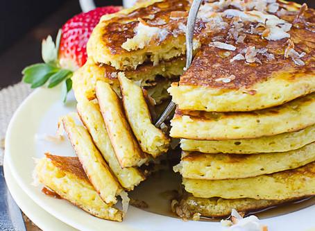 Coconut Orange Pancakes | Breakfast