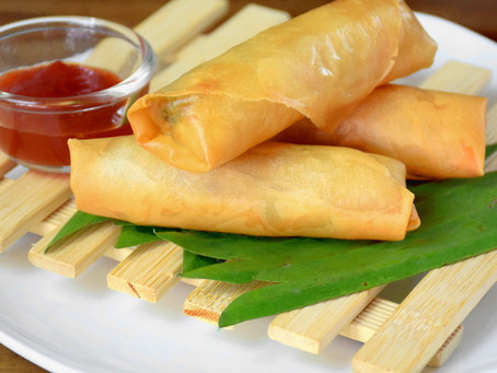 Asian Spring Rolls | Snack