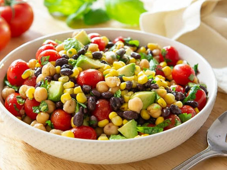 Tomato, Corn and Bean Salad | Lunch