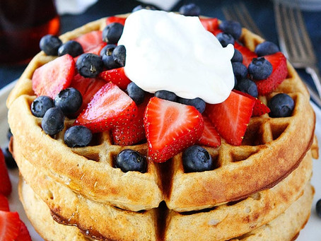 Belgian Waffles | Dessert