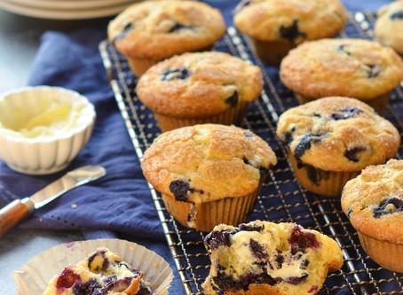 The Best Blueberry Muffins | Dessert