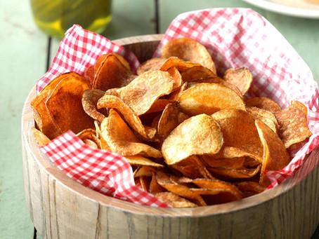 Homemade Potato Chips | Snack