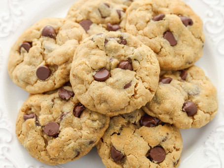 Peanut Butter Oatmeal Chocolate Chip Cookies | snack