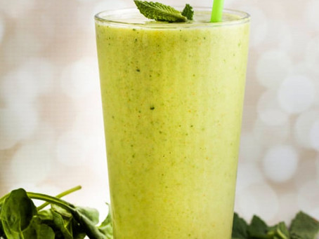 Cucumber, Chile, and Lime Smoothie | Breakfast
