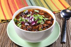 Cuban Black Bean Soup | Lunch