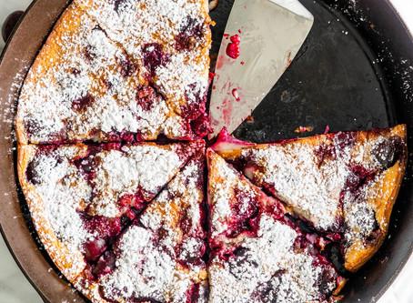 Cherry  Clafoutis | Dessert