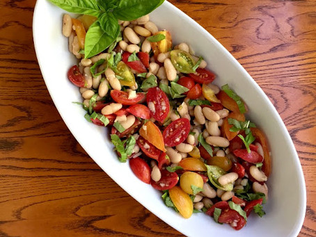 White Bean Tomato Salad | Lunch