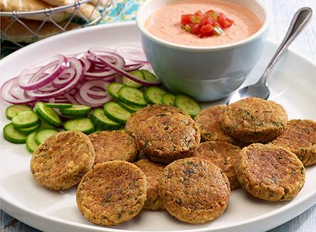 Spicy Falafel Patties   Dinner