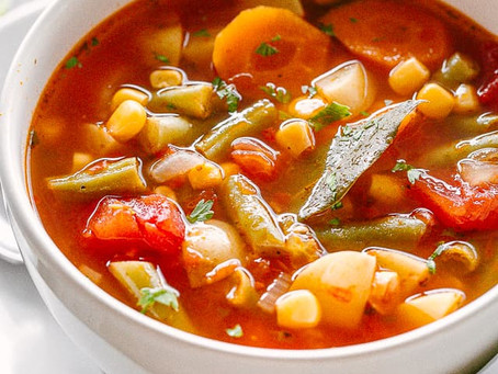 Simple Slow-Simmered Vegetable Broth   Lunch