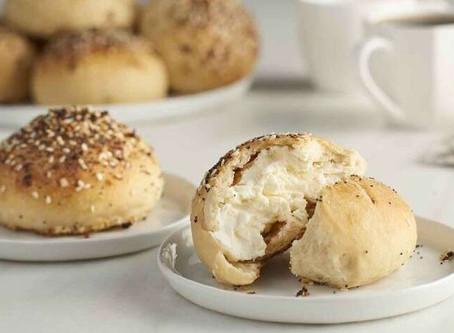 Vegan Stuffed Bagels | Lunch