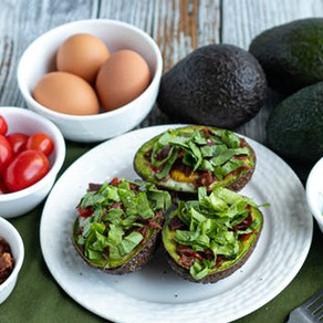 Keto BLT baked avocado eggs   Keto   recipe