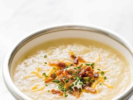 Tasty Baked Potato Soup | Lunch